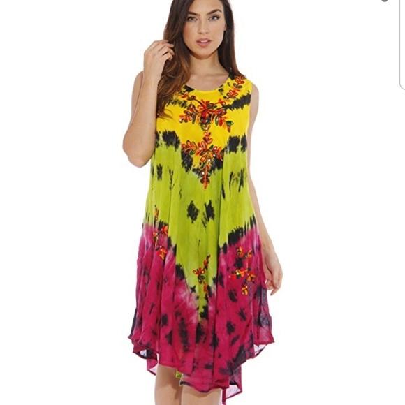riveriasun Dresses & Skirts - Women's one size summer dress swimsuit cover up